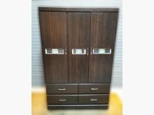 [8成新] 四尺胡桃衣櫃衣櫃/衣櫥有輕微破損