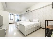 [全新] 台北松山急售子母床框床墊單人床架全新
