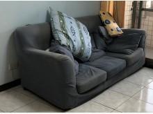 [7成新及以下] 3人座布沙發雙人沙發有明顯破損