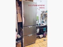 [8成新] 日立三門冰箱便宜出售冰箱有輕微破損