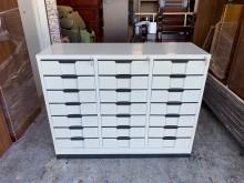 [全新] 全新品4x3尺 下座21屜鐵櫃辦公櫥櫃全新