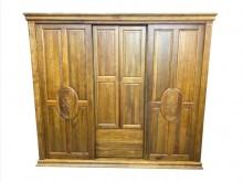 [9成新] LG111502*樟木7尺衣櫃*衣櫃/衣櫥無破損有使用痕跡