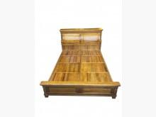 [9成新] LG111503*樟木5尺床架*雙人床架無破損有使用痕跡