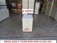 [9成新] A50992 KEY鋼軌耐重鐵櫃辦公櫥櫃無破損有使用痕跡