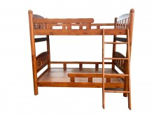 [9成新] *B112001*實木上下床單人床架無破損有使用痕跡