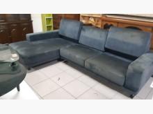 [9成新] L型可拆式絨布功能式沙發L型沙發無破損有使用痕跡