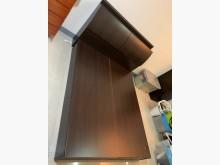 [9成新] 小套房最愛胡桃雙人床架(含床頭箱雙人床架無破損有使用痕跡