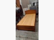 [9成新] 【尚典】木紋3.5呎床架單人床架無破損有使用痕跡