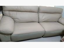 [9成新] 米灰色牛皮沙發折現隨便賣撿便宜L型沙發無破損有使用痕跡