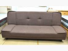 [8成新] 二手咖啡色布沙發床 桃園區免運費沙發床有輕微破損