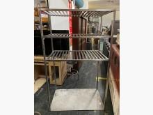 三合二手物流(304白鐵架)其它廚房用品無破損有使用痕跡