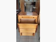 [9成新] 實木貼皮造型6斗櫃收納櫃無破損有使用痕跡