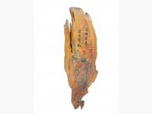 [9成新] R121812*檜木達摩藝品擺飾無破損有使用痕跡