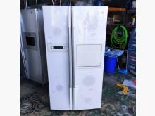 [9成新] LG壓花風格689L對開冰箱冰箱無破損有使用痕跡