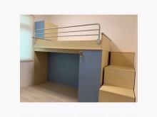 [8成新] 歐德系統傢俱-兒童上下舖床組單人床架有輕微破損