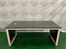 [9成新] 12035109 鐵刀木色主管桌辦公桌無破損有使用痕跡