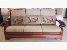 [95成新] 實木3人座木製沙發近乎全新