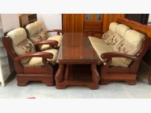 [95成新] 實木1+2+3沙發椅木製沙發近乎全新