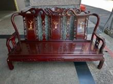 [9成新] 隆發家具行 ▪ 實木3人沙發木製沙發無破損有使用痕跡