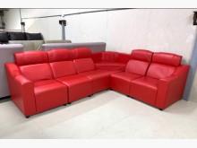 [95成新] KTV紅色高背沙發/皮沙發L型沙發近乎全新