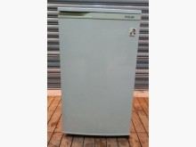 [7成新及以下] 歌林90公升單門小冰箱冰箱有明顯破損