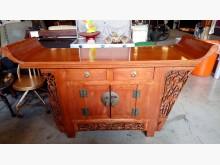 [8成新] 大台北二手傢俱-實木玄關桌其它桌椅有輕微破損