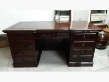 [9成新] 九成新紅木實木6尺高級辦公桌辦公桌無破損有使用痕跡