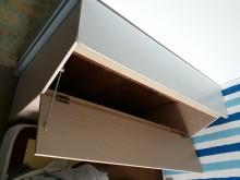 [9成新] 白色單人床頭櫃床頭櫃無破損有使用痕跡