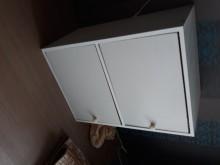 [9成新] 白色收納櫃收納櫃無破損有使用痕跡