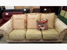 [9成新] 大台北二手傢俱-歐式布沙發雙人沙發無破損有使用痕跡