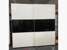 [9成新] 三合二手物流(8尺滑軌烤漆衣櫃)衣櫃/衣櫥無破損有使用痕跡