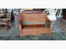 [8成新] 尋寶屋二手買賣~2人座藤椅籐製沙發有輕微破損