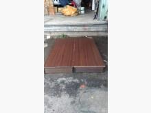 [9成新] 胡桃色5呎床箱(A)雙人床架無破損有使用痕跡