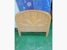 [9成新] 松木 實木單人3.5尺床頭片床頭櫃無破損有使用痕跡