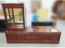[8成新] RW1037*高級花梨木電視櫃*電視櫃有輕微破損