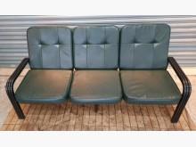 [8成新] 綠色三人沙發雙人沙發有輕微破損
