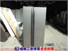 [9成新] 權威二手傢俱/三星雙門對開冰箱冰箱無破損有使用痕跡