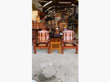 [9成新] 實木單人椅組[不含茶几] 公婆椅木製沙發無破損有使用痕跡