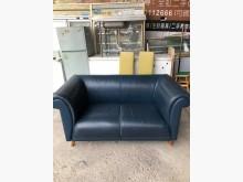 [7成新及以下] 雙人皮沙發 皮製椅 套房沙發雙人沙發有明顯破損