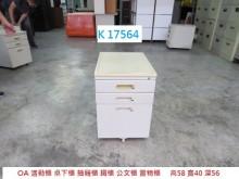 [8成新] K17564 OA 活動櫃辦公櫥櫃有輕微破損