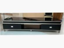 [8成新] A12301*時尚烤漆電視櫃*電視櫃有輕微破損