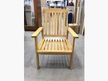 實木單人椅/木椅/扶手椅/房間椅其它桌椅近乎全新