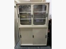 [8成新] 三合二手物流(4尺文件鐵櫃)辦公櫥櫃有輕微破損