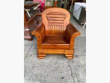[95成新] 實木單人椅/實木椅/實木沙發木製沙發近乎全新