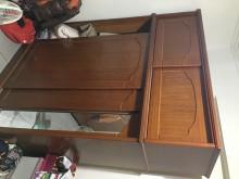 [8成新] 衣櫃~雙層大衣櫃割愛衣櫃/衣櫥有輕微破損