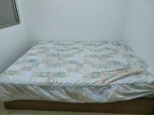 [9成新] 床底/床墊(已補照片囉)雙人床墊無破損有使用痕跡