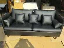 [全新] 全新拆箱無溶劑防刮皮+高密度海棉多件沙發組全新