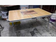 [95成新] 九五新戶外鋁合金折疊烤肉餐桌其它桌椅近乎全新