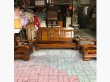 [9成新] 3+1+1木沙發送椅墊木製沙發無破損有使用痕跡