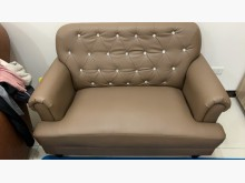 [95成新] 雙人座 皮革沙發 復古沙發雙人沙發近乎全新